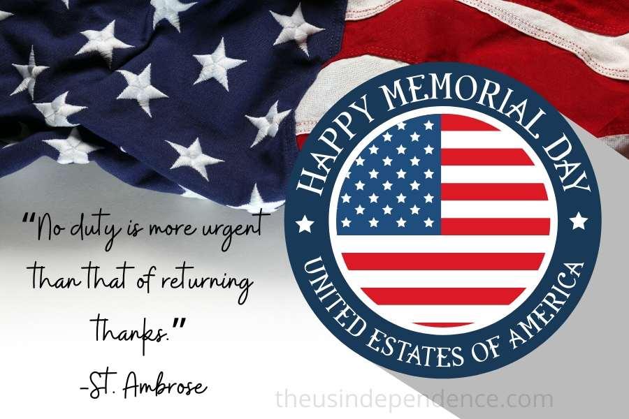 Memorial Day Captions